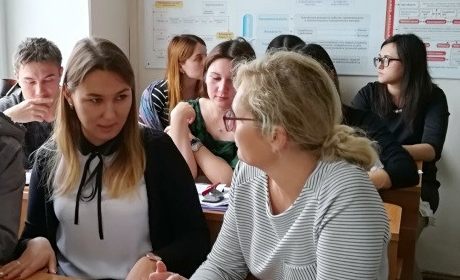Radka Lankašová z Katedry personalistiky úspěšně vyučovala na Bashkir State Agrarian University